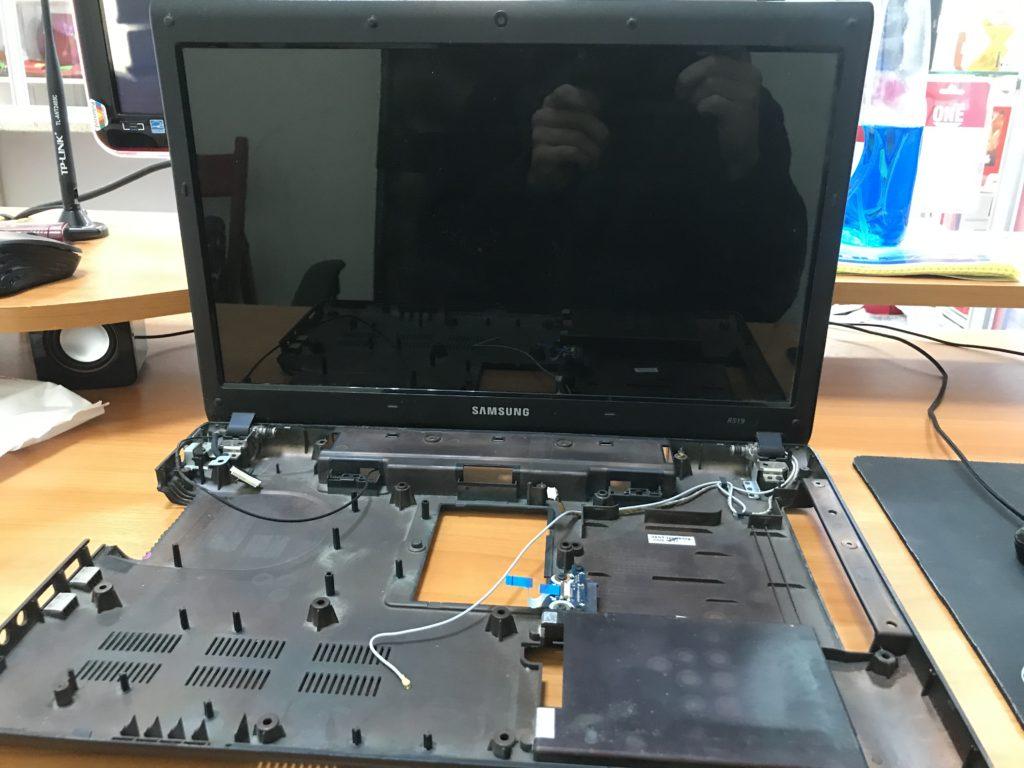 Samsung r519 Полный разбор
