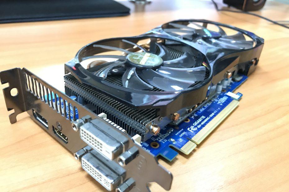 Чистка видеокарты Gtx 660